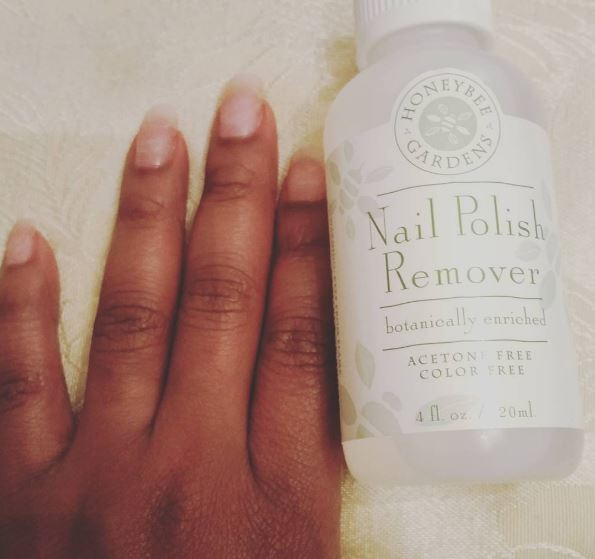 Honeybee Gardens Natural Nail Polish Remover Product