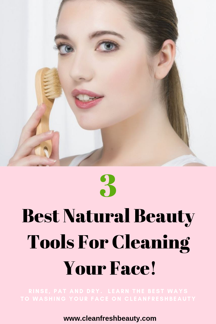 My skin became so much healthier when I used a facial brush to clean my face. Washing your face is critical for an healthy skin and to prevent acne and wrinkles, but your hands can only do so much. In this blog post, I share with you natural skin care tools you can use to wash your face. Click to read more. #greenbeauty #naturalskicare #organicbeauty