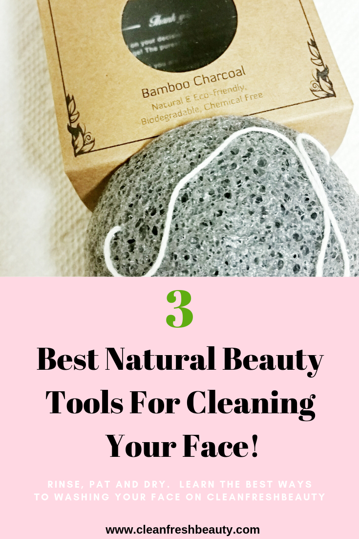 Sometimes, we wash our face with dirty fingers and that can clog our pores. Washing your face is critical for an healthy skin and to prevent acne and wrinkles, but your hands can only do so much. In this blog post, I share with you natural skin care tools you can use to wash your face and clear your pores. Click to read more. #greenbeauty #naturalskicare #organicbeauty #clearpores #cloggedpores