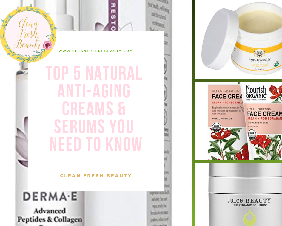 ​Top 5 Natural Anti-Aging Creams and Serums You Need to Know