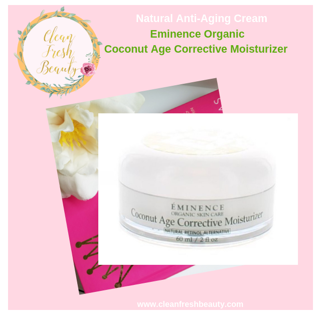 This Eminence Age Corrective Moisturize is a great natural Anti-Aging Creams. Read more about 5 natural anti-aging creams to help you deals with wrinkles. #greenbeauty #antiwrinkle #antiaging #naturalproducts