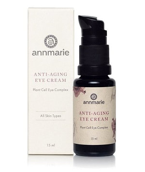 Looking for a natural eye cream to deal with crow's feet and wrinkles around our eyes? Anne Marie Anti-Aging Eye Cream is a great to deal with wrinkles. Click to read more about my review. #greenbeauty #naturalproducts #eyecream #crowsfeet #wrinkles