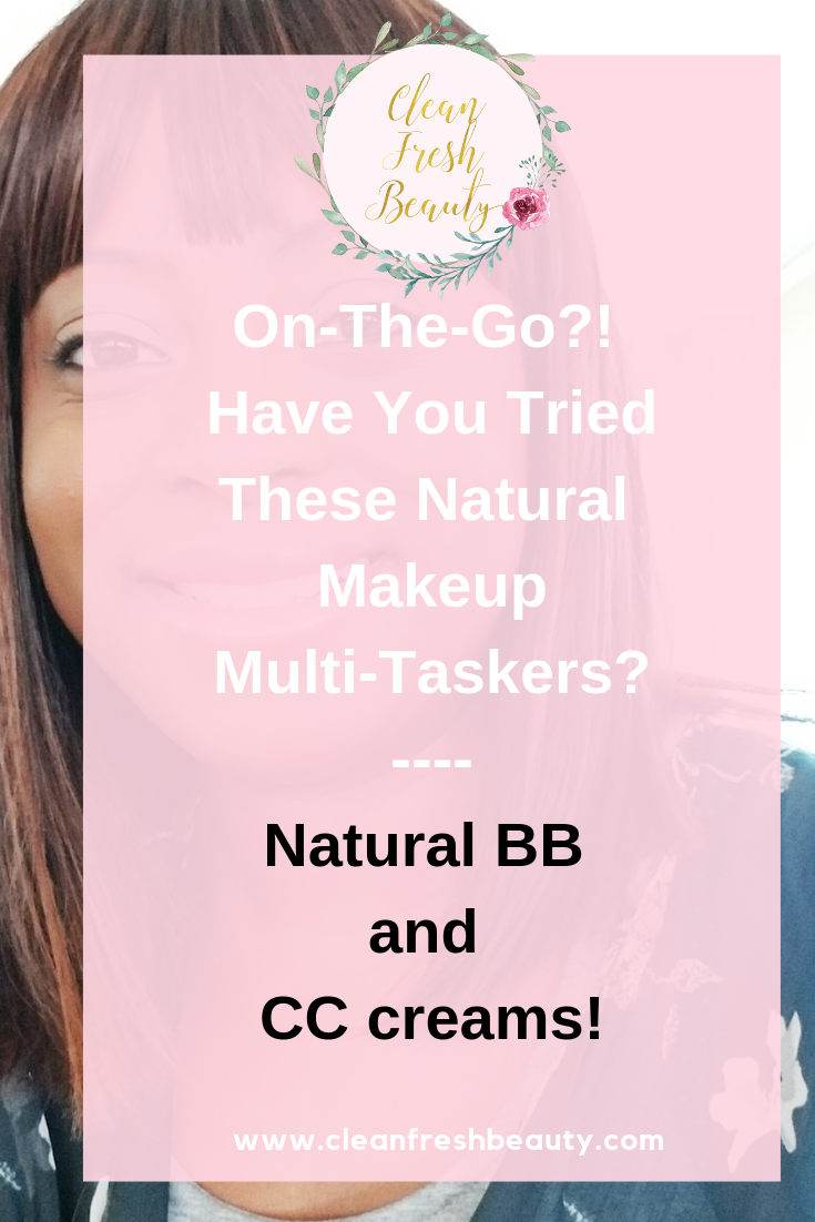 On-the-go, are you looking for multitaskers to make your makeup routine easier? Click to read more. #makeup #naturalbeauty #safecosmetics