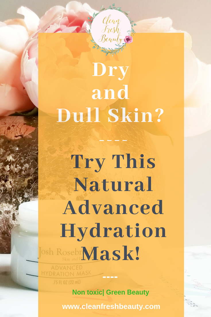 Dealing with dry skin? Wondering what natural product might work for you? I tried this natural advance hydrating mask and It works amazing. You want to try this! Click to read more. #greenbeauty #naturalskincare #organicbeauty