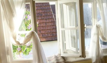 Naturally Clean your Windows and Curtains
