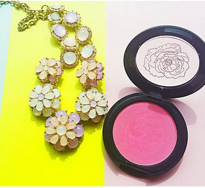 Fitglow Beauty - Super Pigmented Pink Mineral Natural Blush - Organic Makeup Products