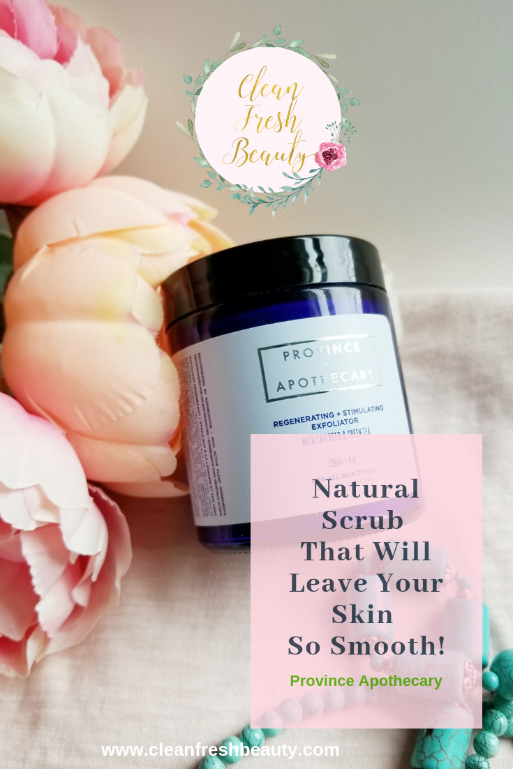 Congested Pores? I love this natural exfoliator; it clear out my skin without being irritating. Try this natural scrub to help with clear out your congested pores. Click through to read more about it #greebeauty #naturaskincare #congestedpores