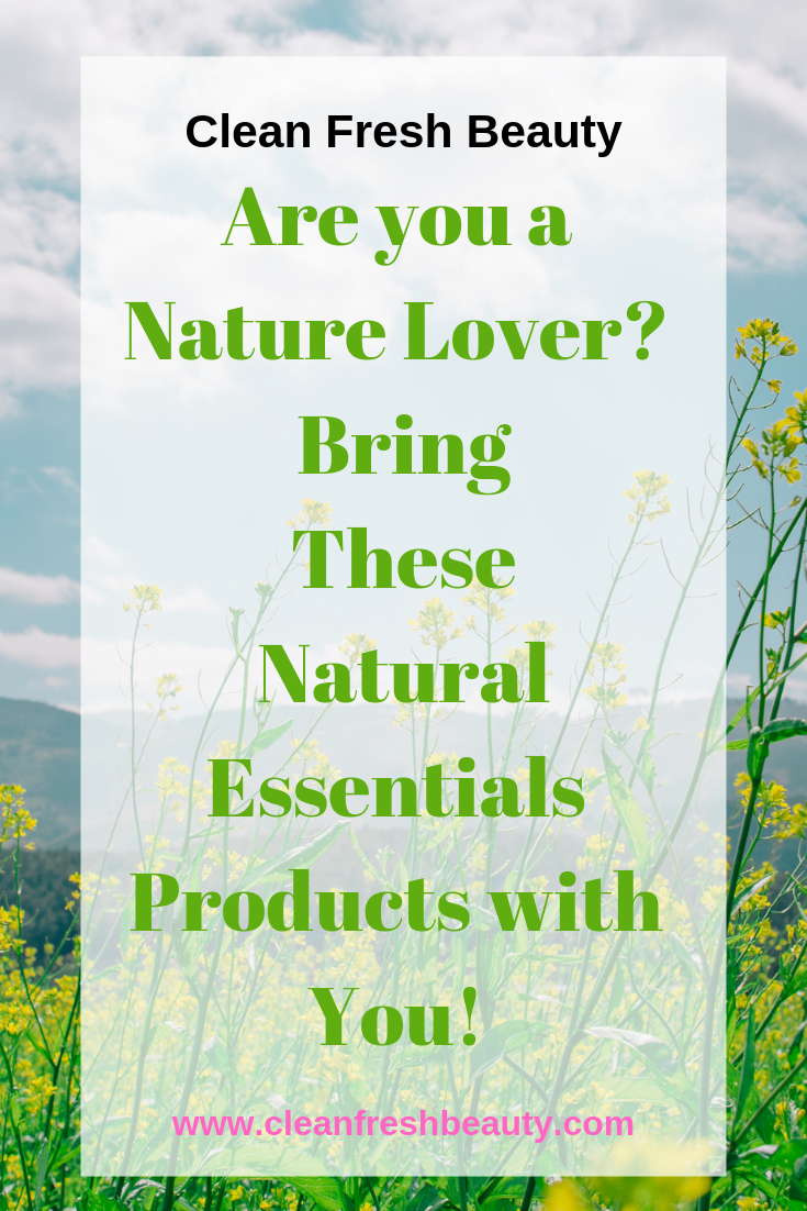 Thinking about your next trip in nature? Bring These biodegradable natural products with you! click to read more. #naturelover #camping #greenbeauty #biodegradable #wastefree