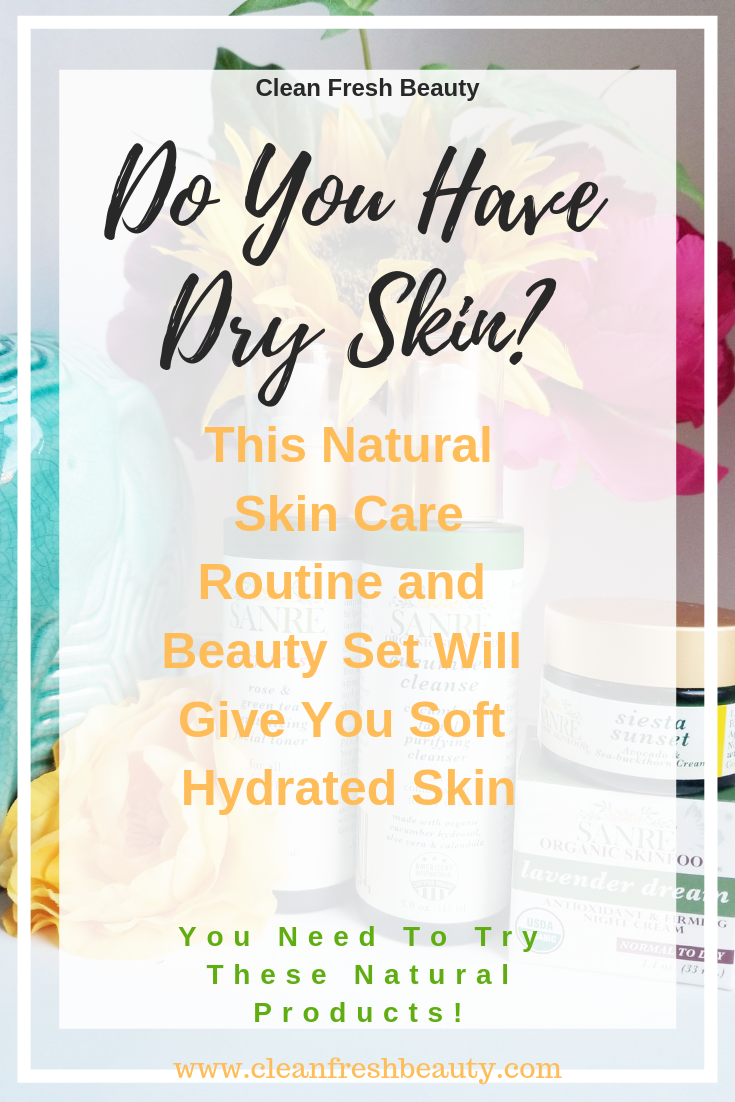 How to have an hydrating and softening skin care routine to help with your dry skin? These natural products are made with ingredients that are rich in antioxiants to fight aging signs and dry skin. They hydrate and moisturize your skin. My skin feels so soft and nourished. I am share it with you in this blog post.  Click to read more #greenbeauty #matureskin #naturalproducts #antiaging