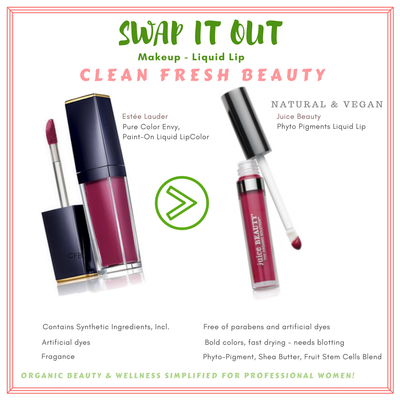 Switch Your Lip Color to Juice Beauty Natural Liquid Lip Stain