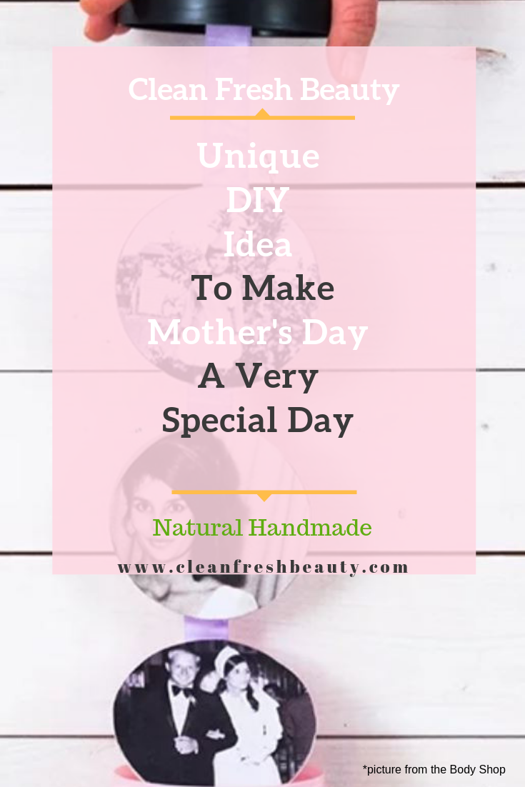 Looking for a fun diy project for mother's day? In this blog post, I share with you original handmade mother's day gifts. You will love this selection. click to read more and find out. #mothersday #greenbeauty