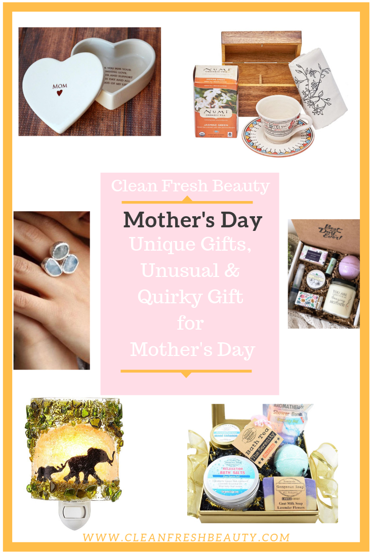 PicturLooking for a fun original gifts for mother's day? In this blog post, I share with you original handmade mother's day gifts. You will love this selection. click to read more and find out. #mothersday #greenbeautye